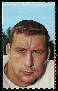Don Brumm 1969 Glendale Stamps football card