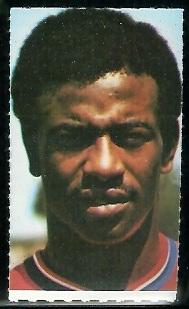 Aaron Marsh 1969 Glendale Stamps football card