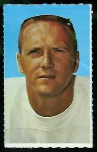 Jerry Stovall 1969 Glendale Stamps football card