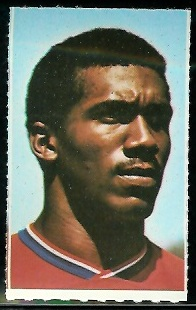R.C. Gamble 1969 Glendale Stamps football card