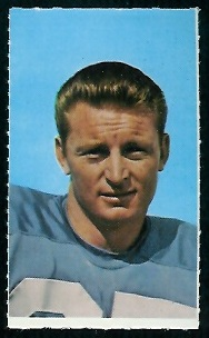 Gary Garrison 1969 Glendale Stamps football card