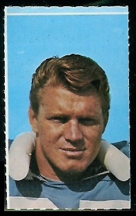 Sam Gruneisen 1969 Glendale Stamps football card
