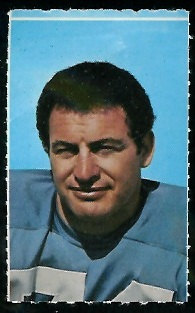 Ron Mix 1969 Glendale Stamps football card