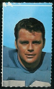 Walt Sweeney 1969 Glendale Stamps football card
