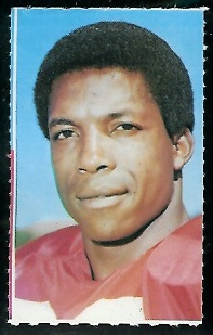 Kermit Alexander 1969 Glendale Stamps football card