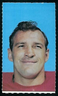 Bruce Bosley 1969 Glendale Stamps football card