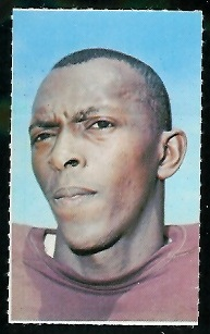 Clifton McNeil 1969 Glendale Stamps football card