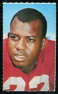 Gary Lewis 1969 Glendale Stamps football card