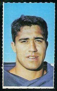 Ray Schoenke 1969 Glendale Stamps football card
