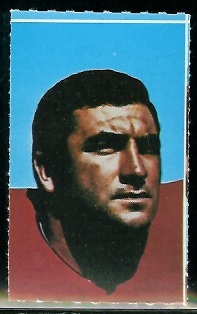 Larry Eisenhauer 1969 Glendale Stamps football card