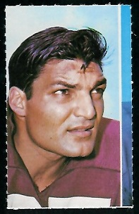 Vince Promuto 1969 Glendale Stamps football card