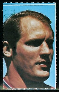 Jon Morris 1969 Glendale Stamps football card