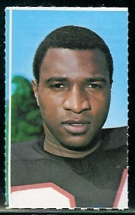 Junior Coffey 1969 Glendale Stamps football card