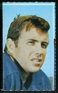 Jack Kemp 1969 Glendale Stamps football card