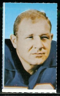 Mike Stratton 1969 Glendale Stamps football card