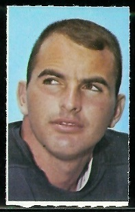 Brian Piccolo 1969 Glendale Stamps football card