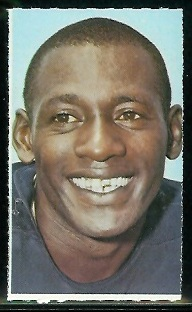 Roosevelt Taylor 1969 Glendale Stamps football card