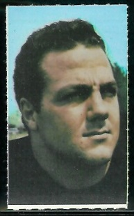 Bill Staley 1969 Glendale Stamps football card