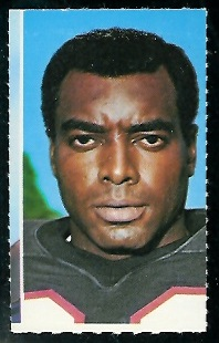 Charlie Bryant 1969 Glendale Stamps football card