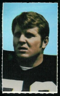 Pat Matson 1969 Glendale Stamps football card