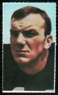 Sam Wyche 1969 Glendale Stamps football card
