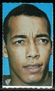 Ben Davis 1969 Glendale Stamps football card