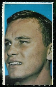 Ernie Kellerman 1969 Glendale Stamps football card