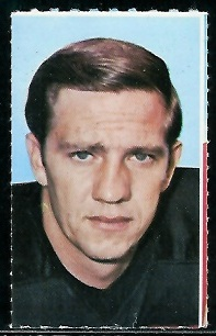 Billy Lothridge 1969 Glendale Stamps football card
