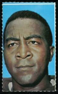 Leroy Kelly 1969 Glendale Stamps football card