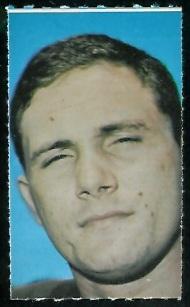 Dale Lindsey 1969 Glendale Stamps football card