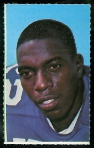 Bob Hayes 1969 Glendale Stamps football card