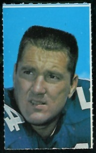 Chuck Howley 1969 Glendale Stamps football card