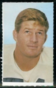 Bob Lilly 1969 Glendale Stamps football card