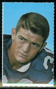 Dan Reeves 1969 Glendale Stamps football card