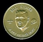 1969 Saints Doubloons Bill Kilmer