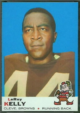 Leroy Kelly 1969 Topps football card