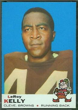Leroy Kelly 1969 Topps football card