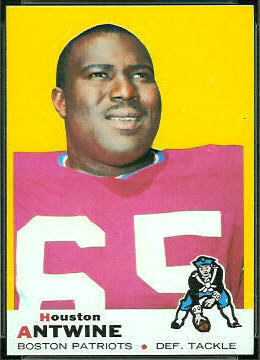 Houston Antwine 1969 Topps football card