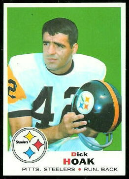 Dick Hoak 1969 Topps football card