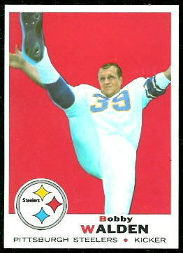 Bobby Walden 1969 Topps football card