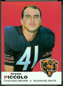 Brian Piccolo 1969 Topps football card
