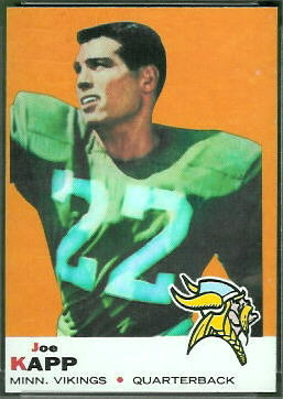 Joe Kapp 1969 Topps football card