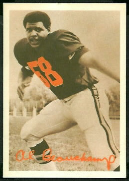 Al Beauchamp 1969 Tresler Comet Bengals football card