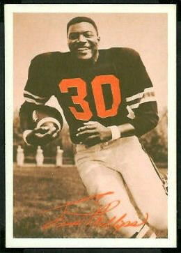 Jess Phillips 1969 Tresler Comet Bengals football card