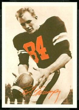 Bob Trumpy 1969 Tresler Comet Bengals football card