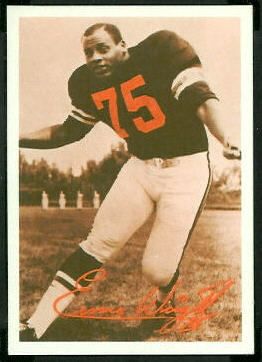 Ernie Wright 1969 Tresler Comet Bengals football card