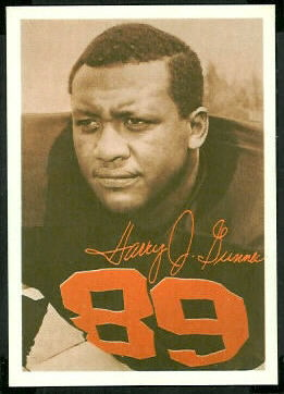 Harry Gunner 1969 Tresler Comet Bengals football card