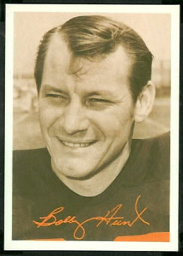 Bobby Hunt 1969 Tresler Comet Bengals football card