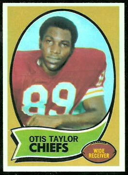 Otis Taylor 1970 Topps football card