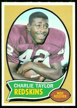 Charley Taylor 1970 Topps football card